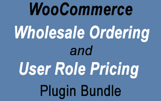 WooCommerce Wholesale Ordering and User Role Pricing bundle